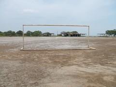 Soccer field near Juchitan