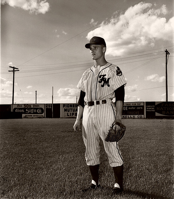 Roger Maris July 5 1953 In His Rookie Year With The Far