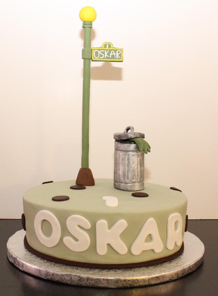 Happy Birthday To Oscar Cake