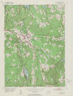 Colchester Quadrangle 1953 - USGS Topographic 1:24,000 | by uconnlibrariesmagic