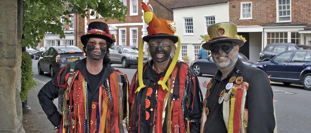 Black face morris dancers | James Higgott | Flickr