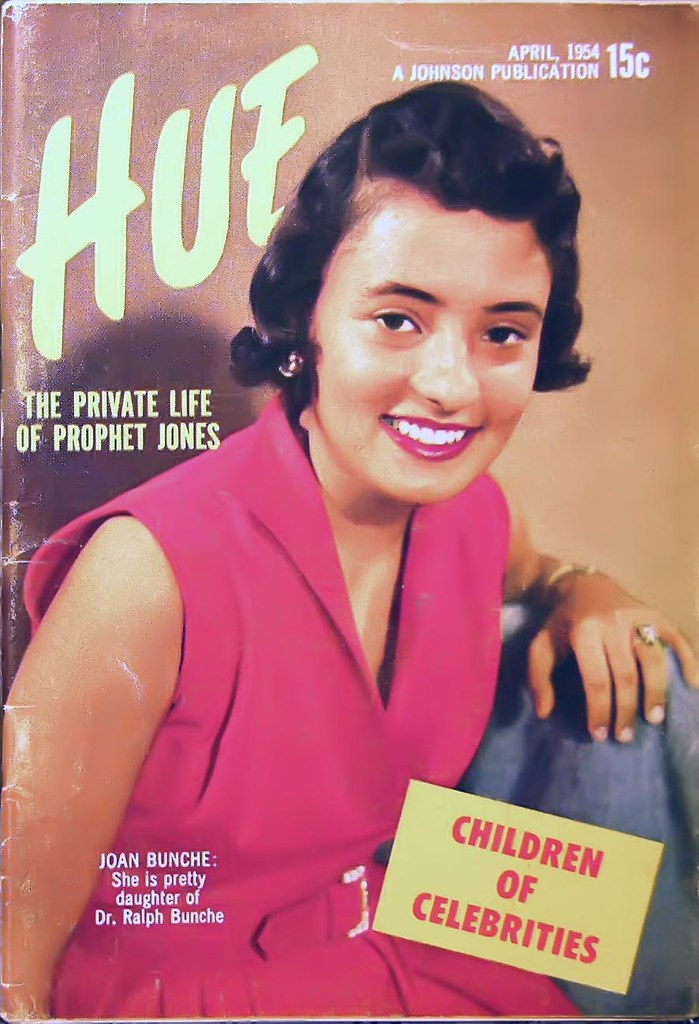 Joan Bunche, Daughter of Dr. Ralph Bunche - Hue Magazine April ...