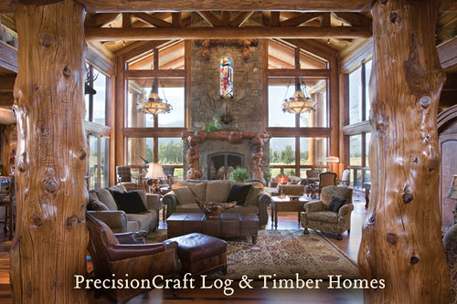 Handcrafted Custom Design Great Room View Precisioncra