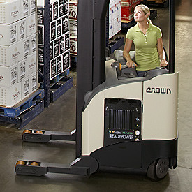 Fuel Cell Certified Rr 5700 Reach Truck Crown Conducts