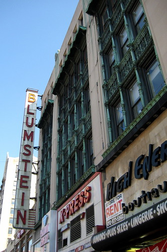 NYC - Harlem: Blumstein's Department Store | by wallyg