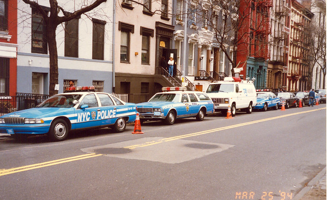 White Honda Civic >> NYPD Blue TV Show Outdoor Set Cars Manhattan, N.Y. | Flickr