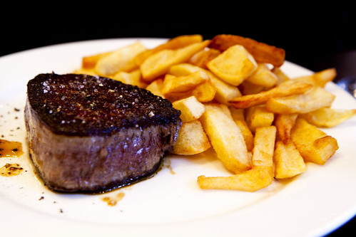 Fillet mignon with frites | by thewanderingeater
