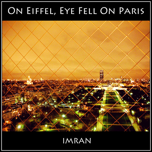 From Top Of Paris' Eiffel, Eye Fell On Paris Below, Under Towering Storm's Rise In Stunning Sky - IMRAN™  - PG13 Text — 9500+ Views! | by ImranAnwar