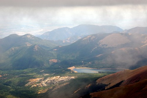 Pikes Peak View to the South | This is part of the view to ...