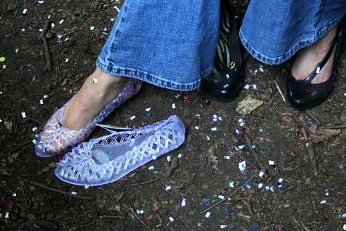 jelly shoes & confetti | by truck stop tea party