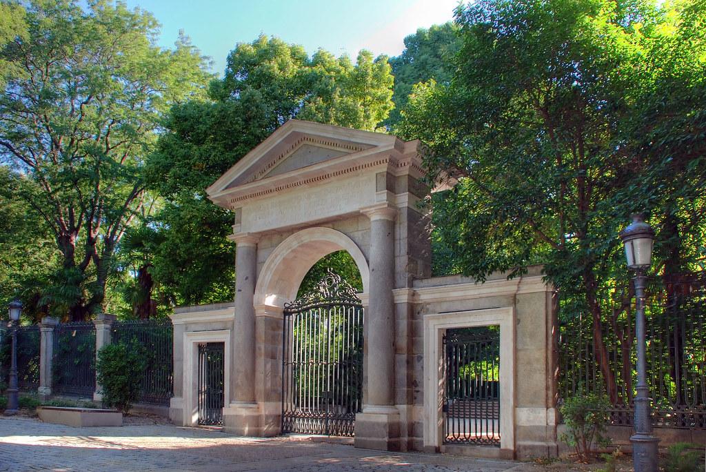 Madrid puerta real jard n bot nico hdr de tres for Jardin botanico de liubliana