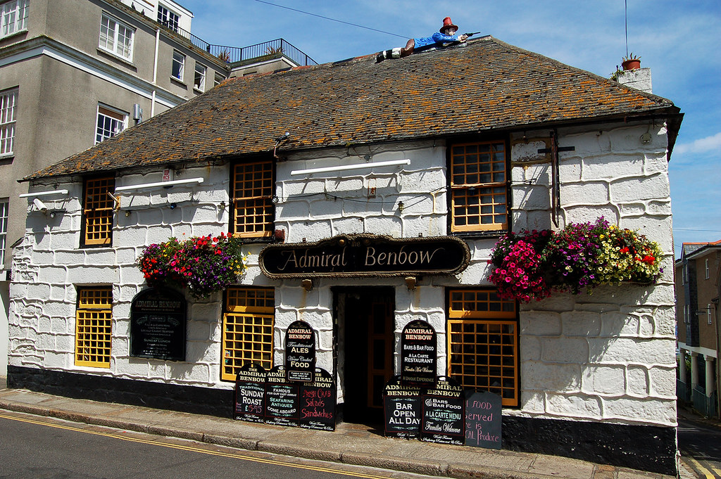 The Admiral Benbow Penzance 10 08 2007 This Is The