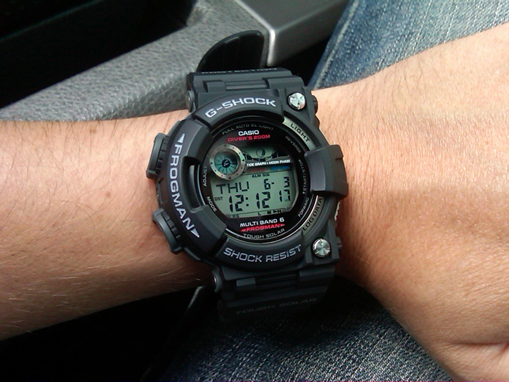 Casio G-Shock Atomic Frogman GWF-1000-1DR
