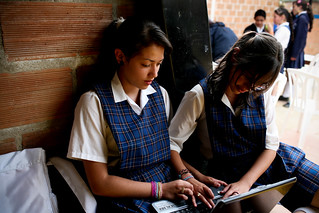 Students at a rural high school | by World Bank Photo Collection