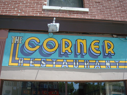 The Corner Restaurant | by 8one6