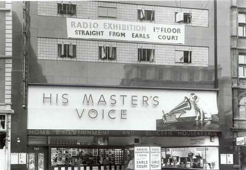 hmv 363 Oxford Street, London 1950s | by hmv_getcloser