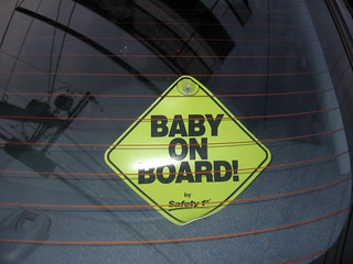 """Baby On Board!"" Replaces Pulp Sticker...The Circle of Life 