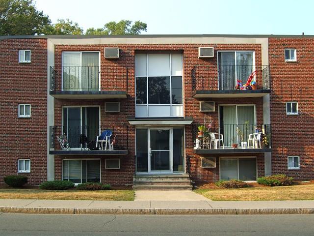... Three Floor Brick Apartment Building   By Denizen8