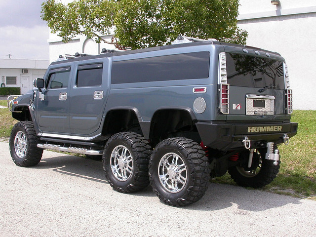 2005 Hummer H6 Players Edition Limo Lift Kit H2 3 Rollen40 Flickr