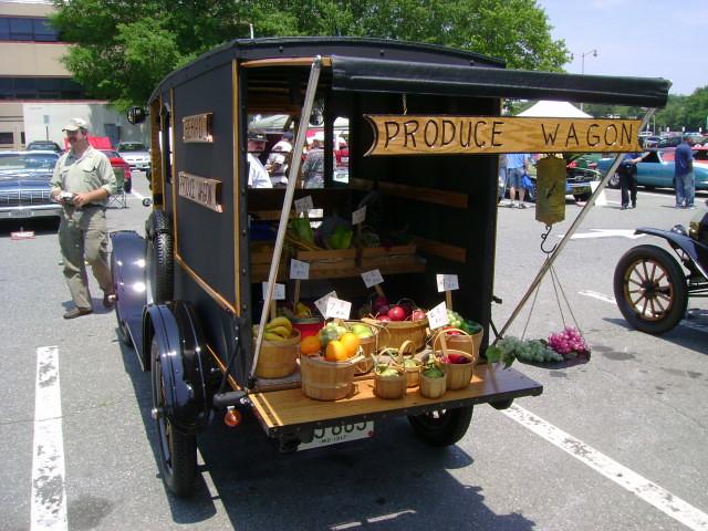 1917 ford model t produce wagon maryland motor vehicle for Motor vehicle administration glen burnie
