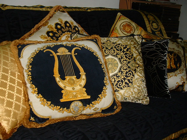 versace cushions nian flickr. Black Bedroom Furniture Sets. Home Design Ideas