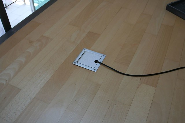 Power outlet in the floor 36metres carres jany h flickr for Hardwood floors outlet