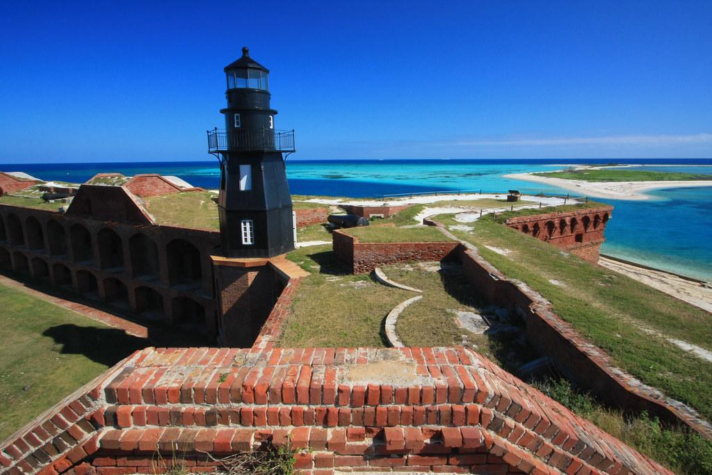 Fort jefferson lighthouse garden key dry tortugas natio flickr for Garden key dry tortugas national park