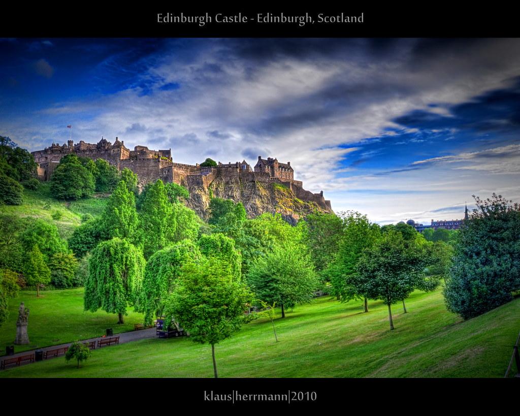 Edinburgh Castle - Edinburgh, Scotland (HDR) | Explore t ...