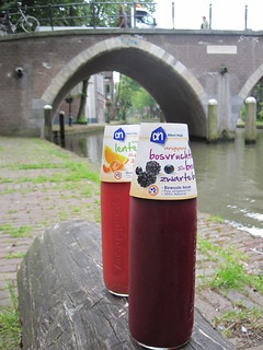Smoothies from Albert Heijn | by veganbackpacker