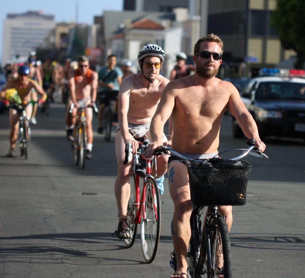 Amnesty International Naked* Bike Ride October 2011