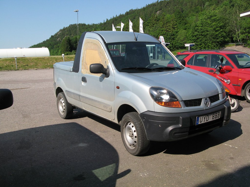 4x4 renault kangoo pick up trollpowersaab flickr. Black Bedroom Furniture Sets. Home Design Ideas