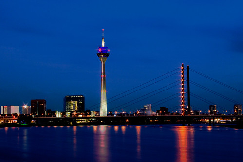 duesseldorf skyline flickr photo sharing. Black Bedroom Furniture Sets. Home Design Ideas