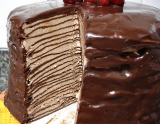Crepe Cake Recipe Chocolate