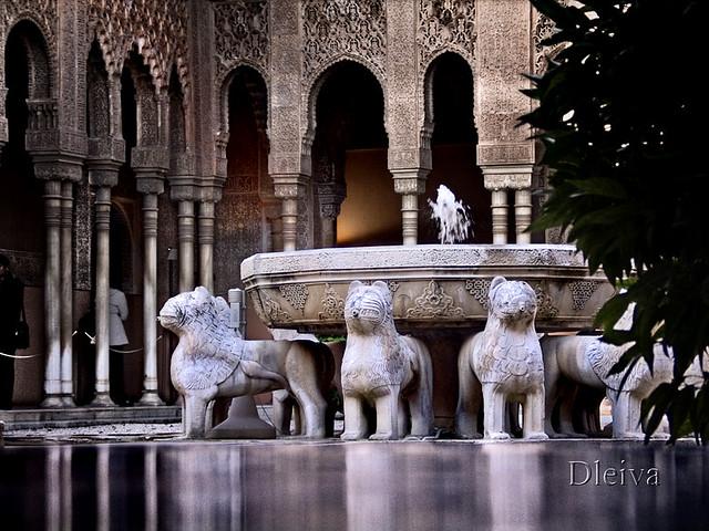Patio De Los Leones La Alhambra Granada Dleiva Com Domingo