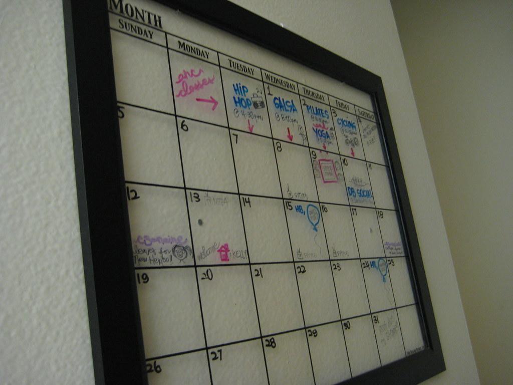 how to clear yahoo calendar