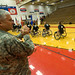 Gen. Casey applauds the service-members and veterans at the Warrior Games