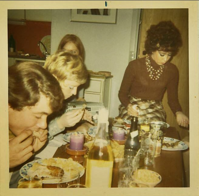 Ph >> 1960s Family People Eating Dinner Vintage Tacky Fashion Ph… | Flickr