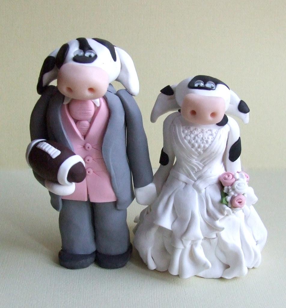 Personalised Wedding Cake Topoers Uk