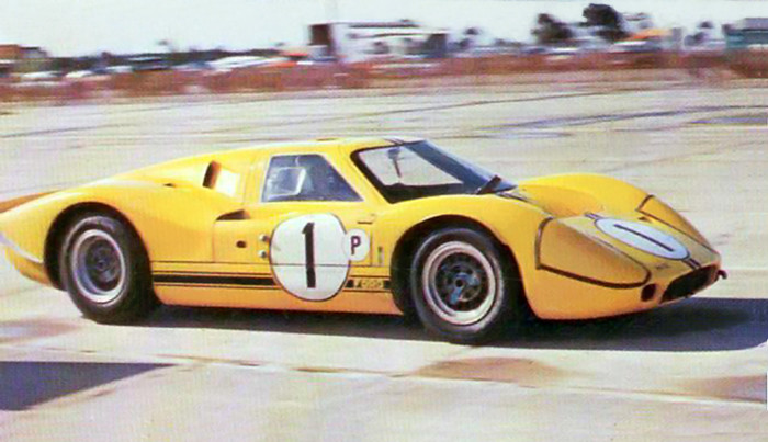 Winning Ford Mk. IV at Sebring 1967 | The factory Ford ...