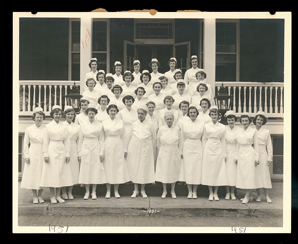 Church Home And Hospital School Of Nursing Class Of 1951