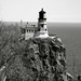Split Rock Lighthouse B&W