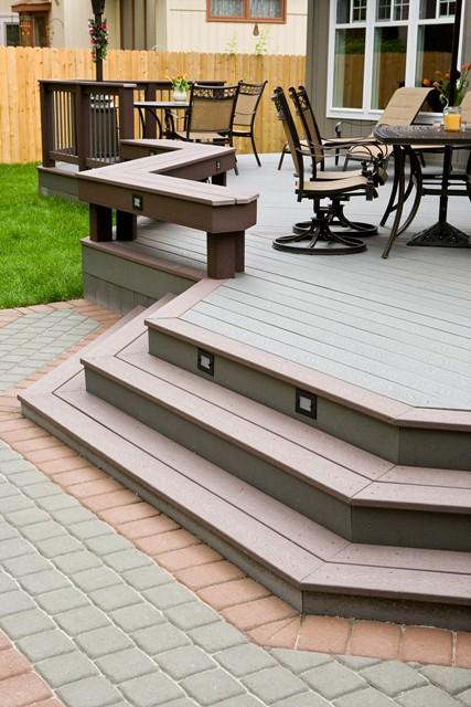 deck design ideas trex cedar hardwood alaskan0158 madeira
