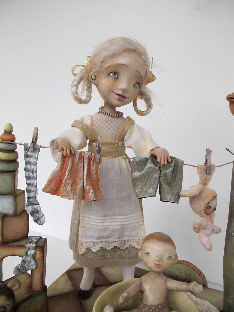 Арт куклы мастер класс