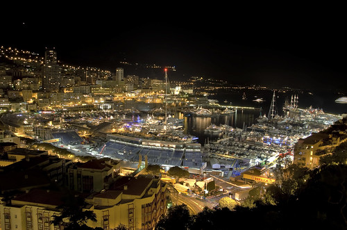 Monaco night HDR | by Kristian Golding