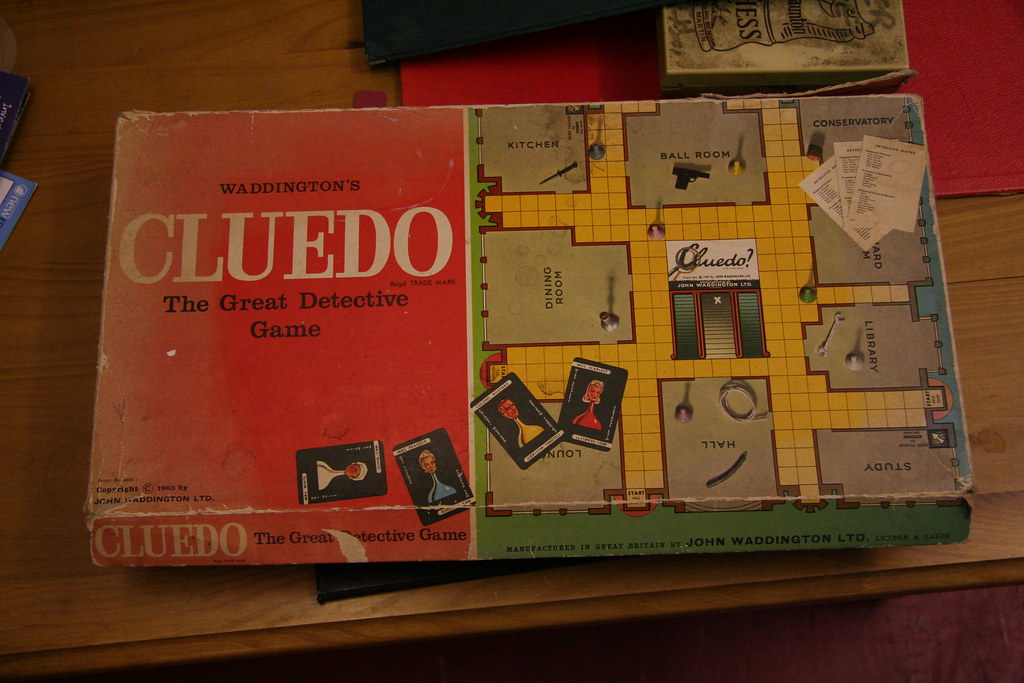 Cluedo Old School Version Of Clue I Always Used To