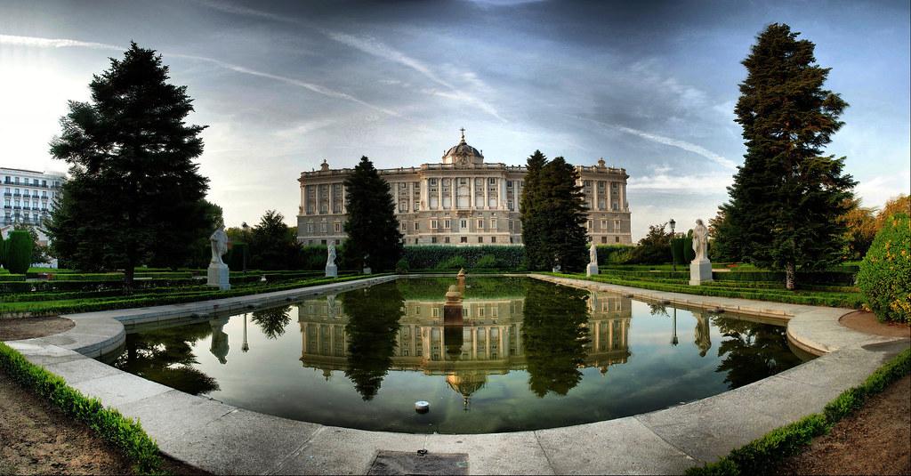 Madrid jardines de sabatini los jardines de sabatini for Jardines de madrid