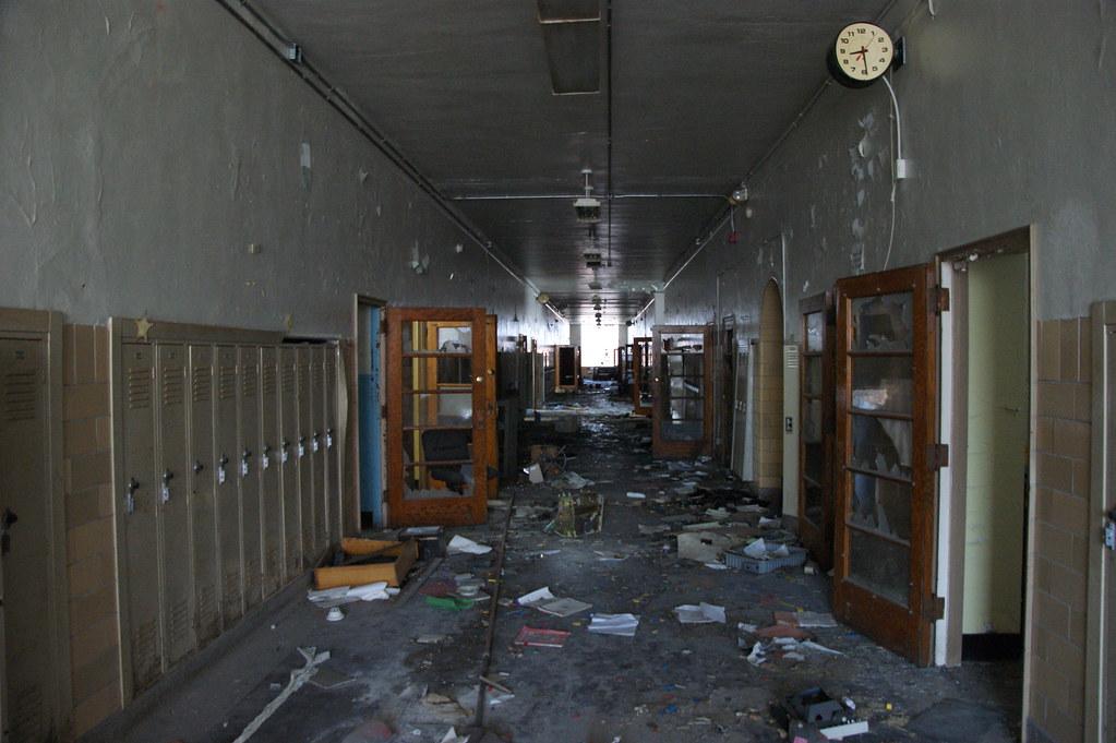 Abandoned St Louis School Nitram242 Flickr