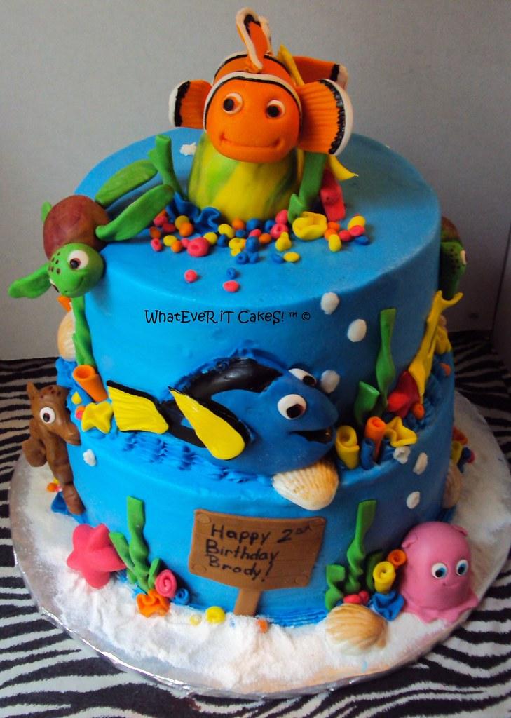 Easy Nemo Cake