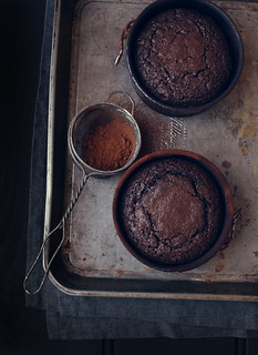 Individual Chocolate Mud Cake | by katiequinndavies