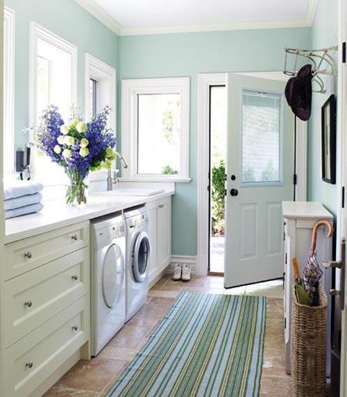 pretty-contemporary-laundry-room-design | Maegan Tintari ...